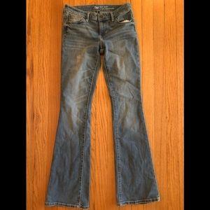 Gap Baby Boot Coupe Denim Jeans Sz 0/25 R